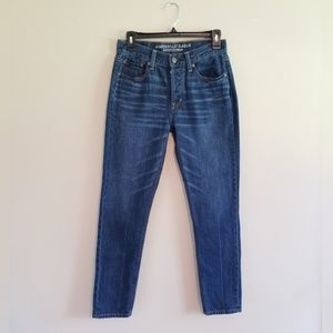 American Eagle Vintage Hi Rise Button Fly Jeans
